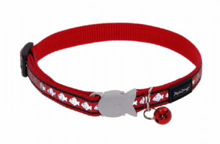 Red Dingo Cat Collar Reflective Red